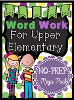 Grab Word Work from my Store!