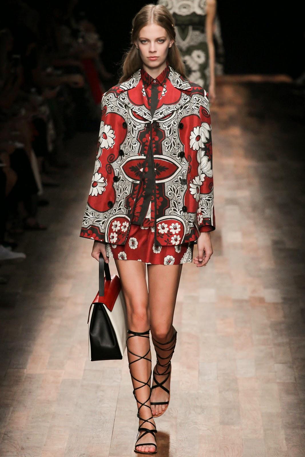 valentino 2015 summer 2016 trend women dress16 Valentino 2015 samling, våren sommaren 2016 Valentino klänning modeller, Valentino kväll klänning nya säsongen kvinnors kjolar modeller