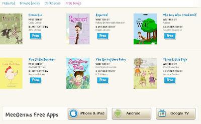 Libros gratuitos para niños en meegenius, en inglés