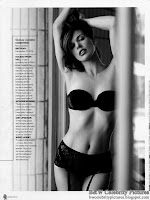 B&W pictures of Milla Jovovich, a Photoshoot For Maxim Australia March 2012 - picture 2