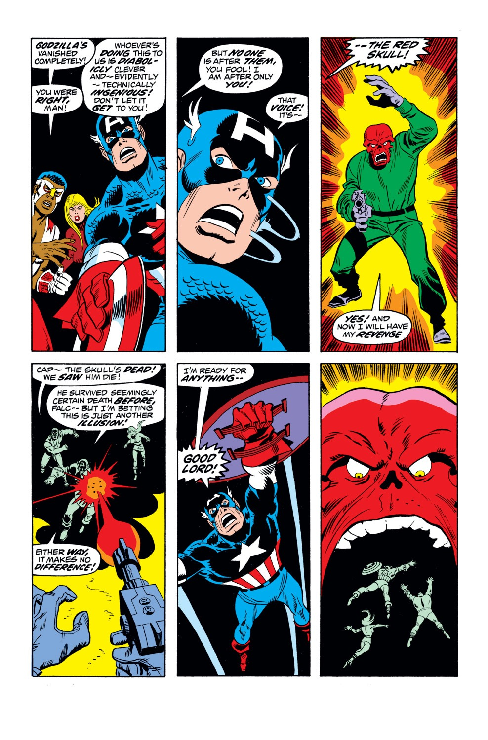 Captain America (1968) Issue #162 #76 - English 9