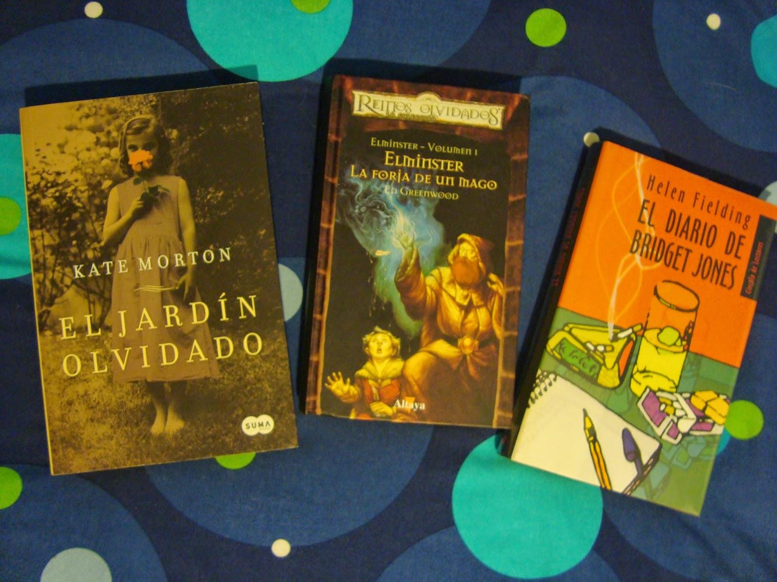 Un libro entre mis manos in my mailbox 5 for Libro jardin olvidado