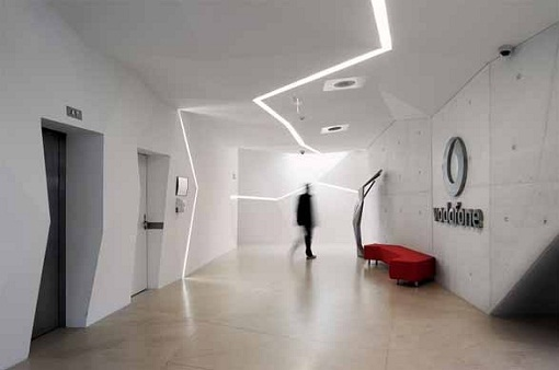 Vodafone Interior Modern Architecture Design