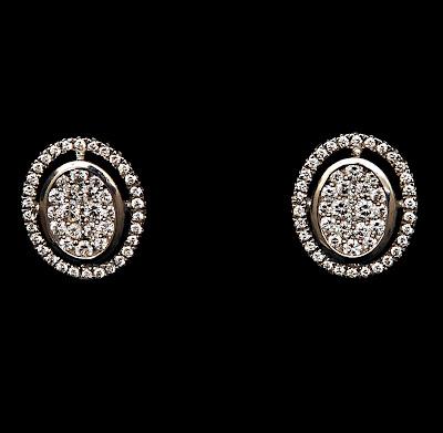 Platinum Diamond Ear Ring Models