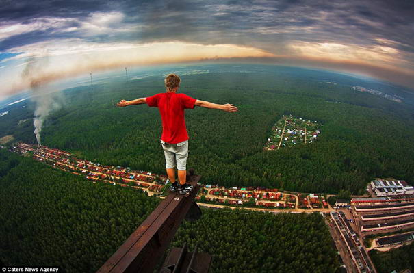 Breathtaking Photos On Sky High Buildings Marat Dupri