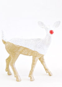DIY Two-Toned Reindeer