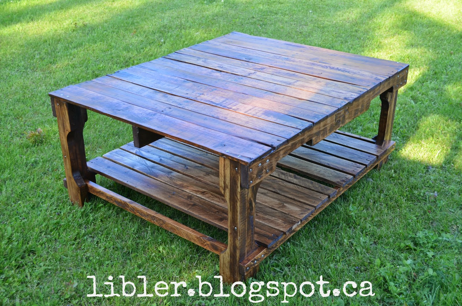 Macgirlver Pallet Coffee Table The Sequel
