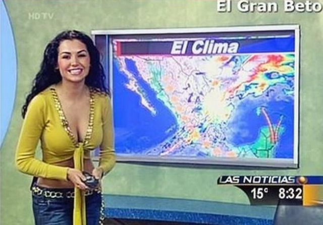 Weather babes Nude Photos 15