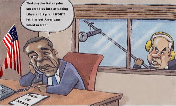 Netanyahu spies on U.S. nuclear negotiations with Iran - This Illustration was adapted by Ronald David Jackson