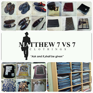MATTHEW7VS7 CLOTHINGS
