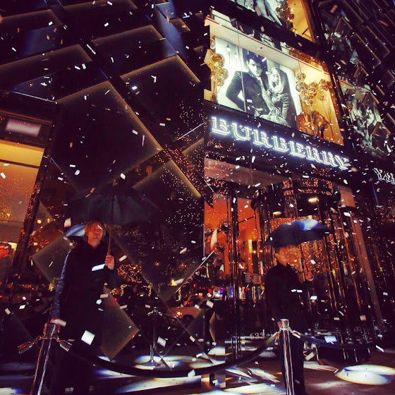 Burberry Art of the Trench party in Chicago