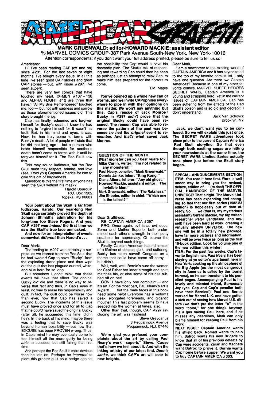 Captain America (1968) Issue #302 #230 - English 24