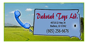 Old Antique Toys: Dakotah Toys Ltd.- Parts for Farming Toys