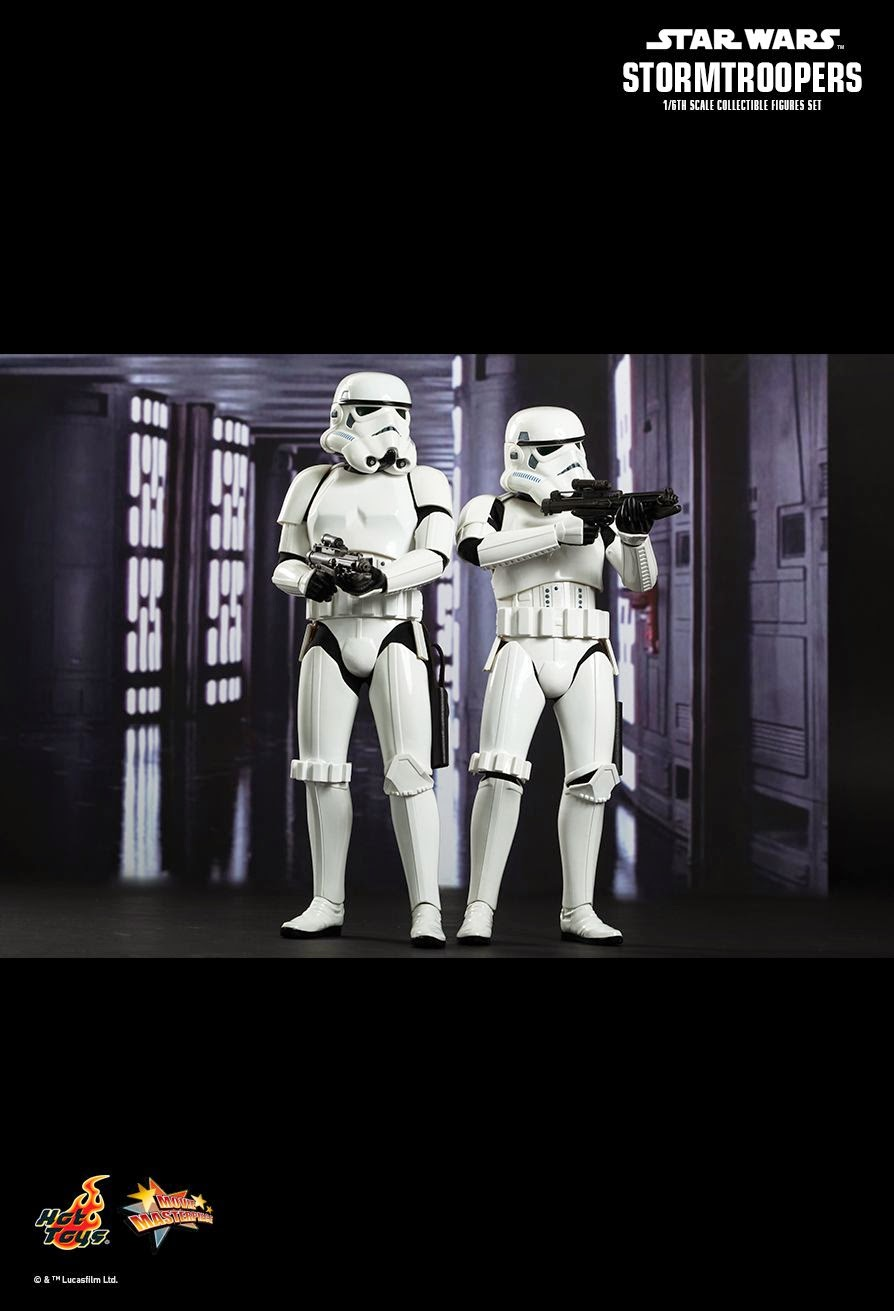 Hot toys mms268 Star wars IV A New Hope Stormtrooper 1//6 Accessories