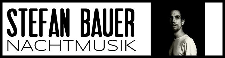 STEFAN BAUER [SINGER/SONGWRITER]