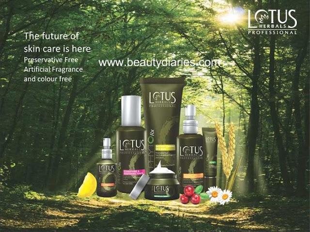 Lotus Herbals Professional - PHYTO-Rx Range