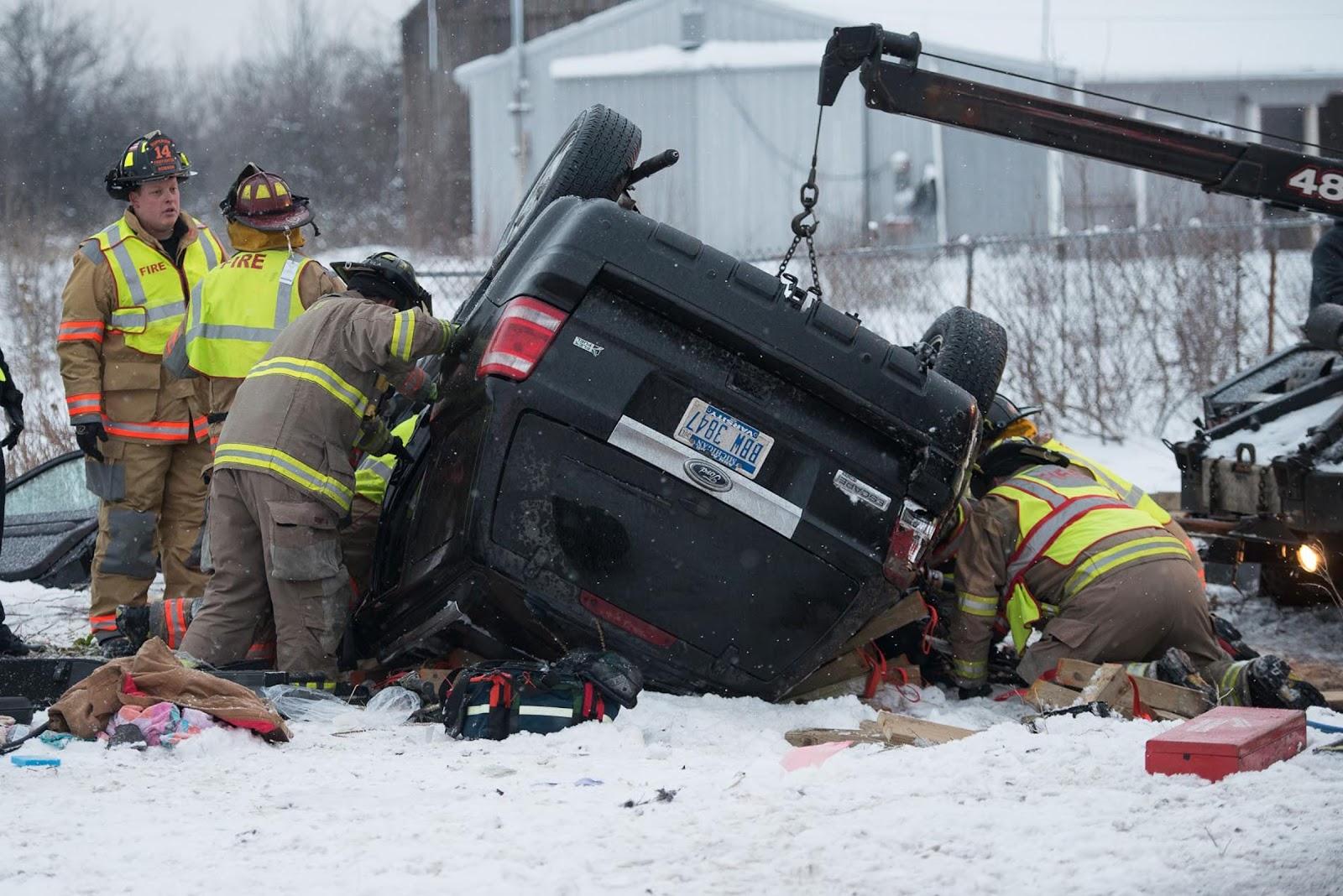 recent car wrecks