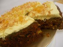 CHEEZY MOIST CARROT CAKE