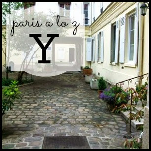 Paris A to Z: Y is for Court Yards
