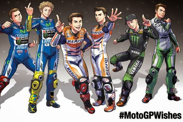 Jadwal Motogp 2015 balapan dan siaran langsung di TV