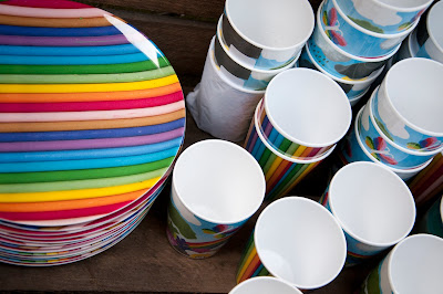 Colourful melamine by British designer Ella Doran