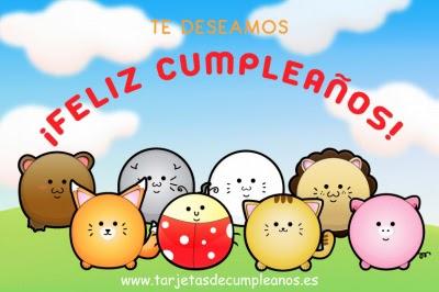 Te deseamos un Feliz Cumpleaños