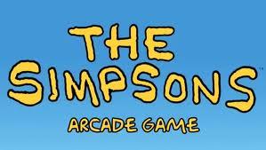 imagem jogo The Simpsons logo