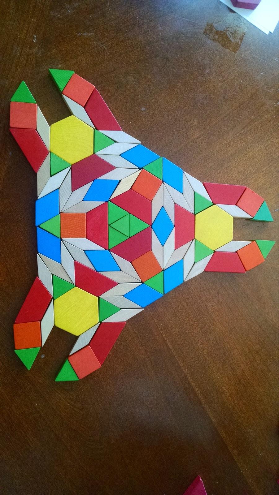 Kids Math Teacher Cool Shapes To Make With Pattern Blocks