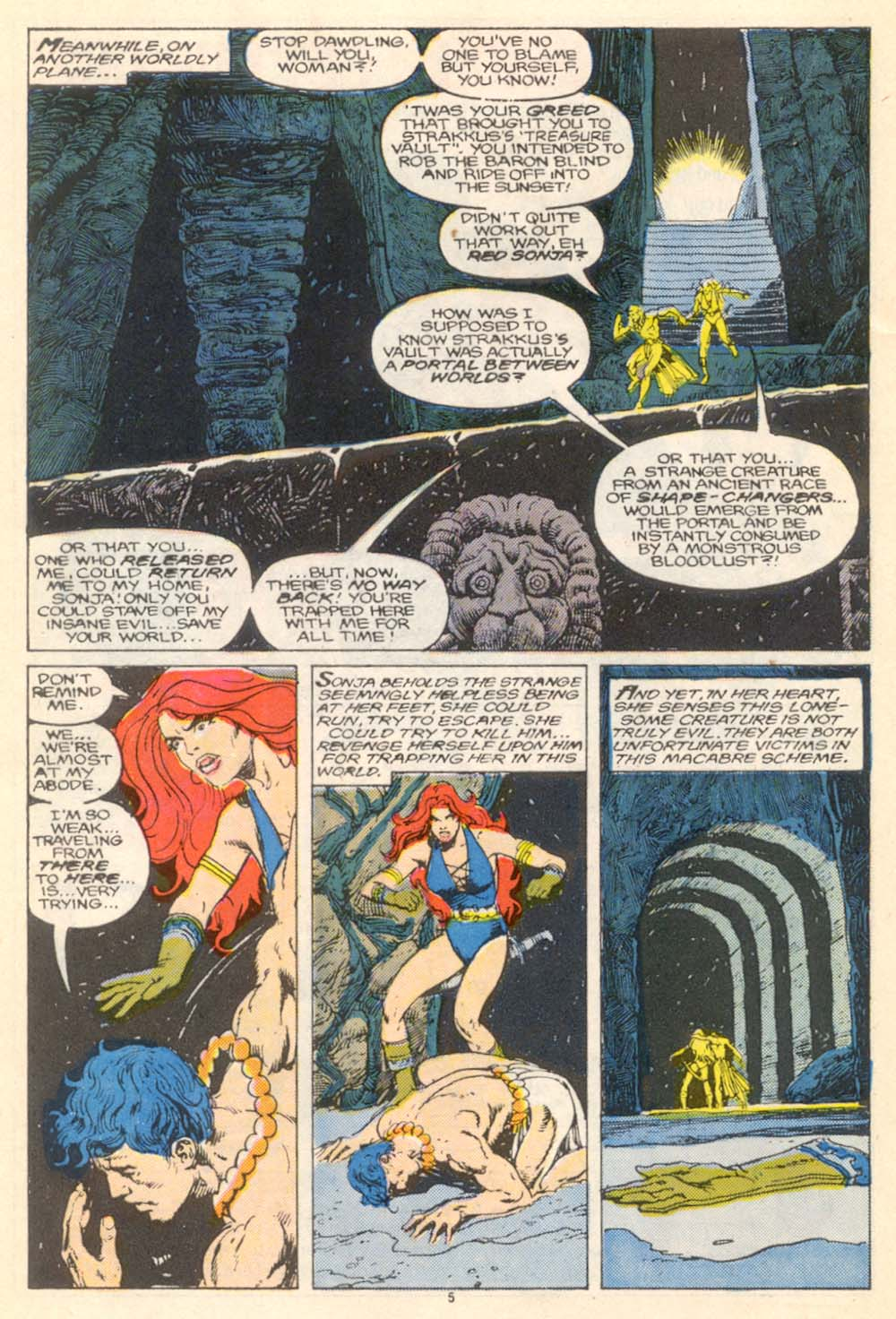 Conan the Barbarian (1970) Issue #205 #217 - English 6