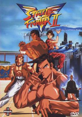 Download - Street Fighter II Victory ( A Saga Completa Dublado ) - 4 DVDs-R