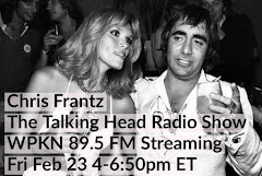 CHRIS FRANTZ THE TALKING HEAD RADIO SHOW FEB.23RD