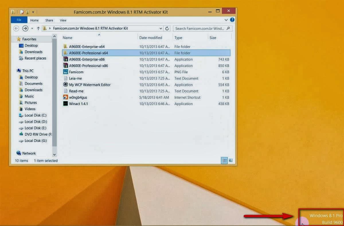 Активатор Windows 8 и Windows 81 рабочая подборка