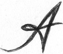 Отсканированная картинка буквы А