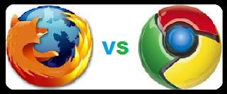 Browser Mozilla Firefox dan Google Chrome