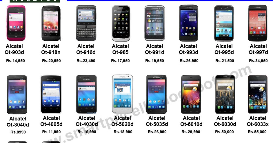 smartpricelk find   smartphones tablet pcs prices  sri lanka alcatel
