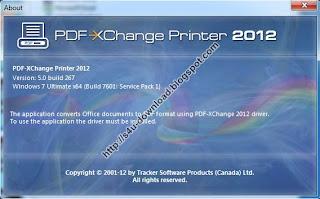 PDF-XChange 2012 Pro 5.0.267.0