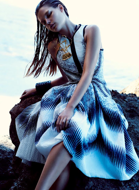 editorial, Flare, mermaid, Bekah Jenkins, Chris Nicholls