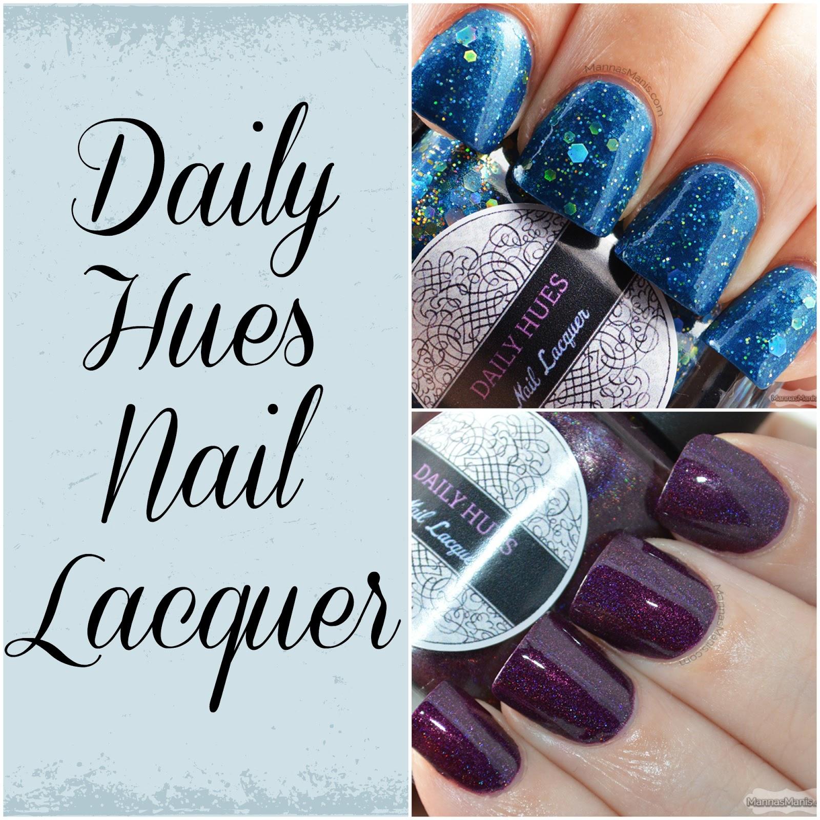 indie nail polish daily hues nail lacquer