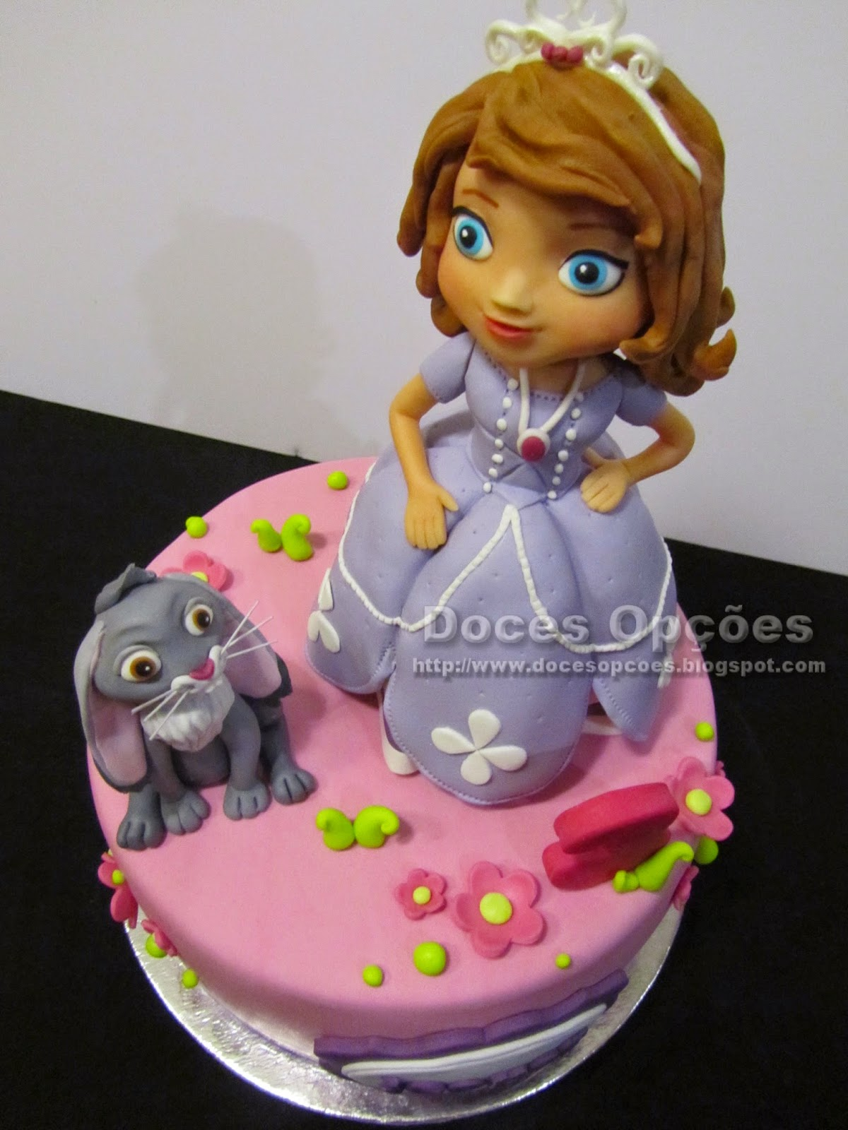 bolos princesas disney doces opçoes