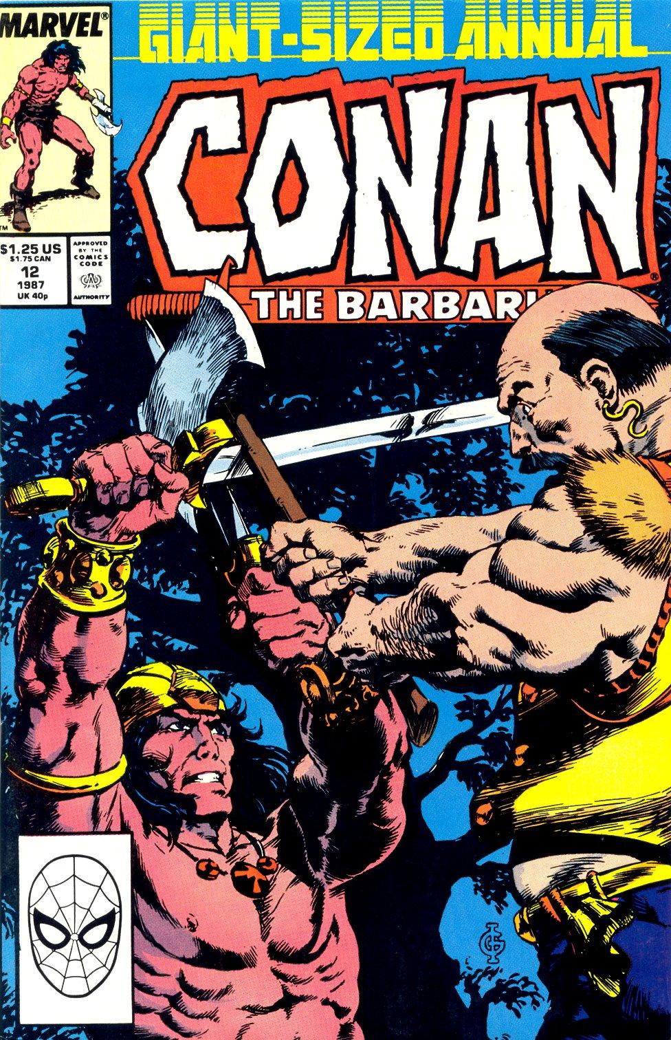Conan the Barbarian (1970) Annual_12 Page 1