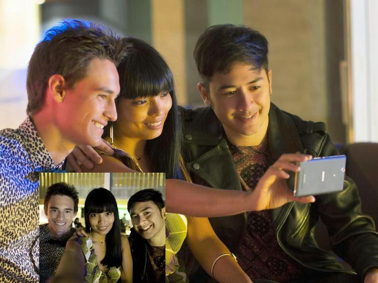 Sony Xperia C3 - Taking Selfie