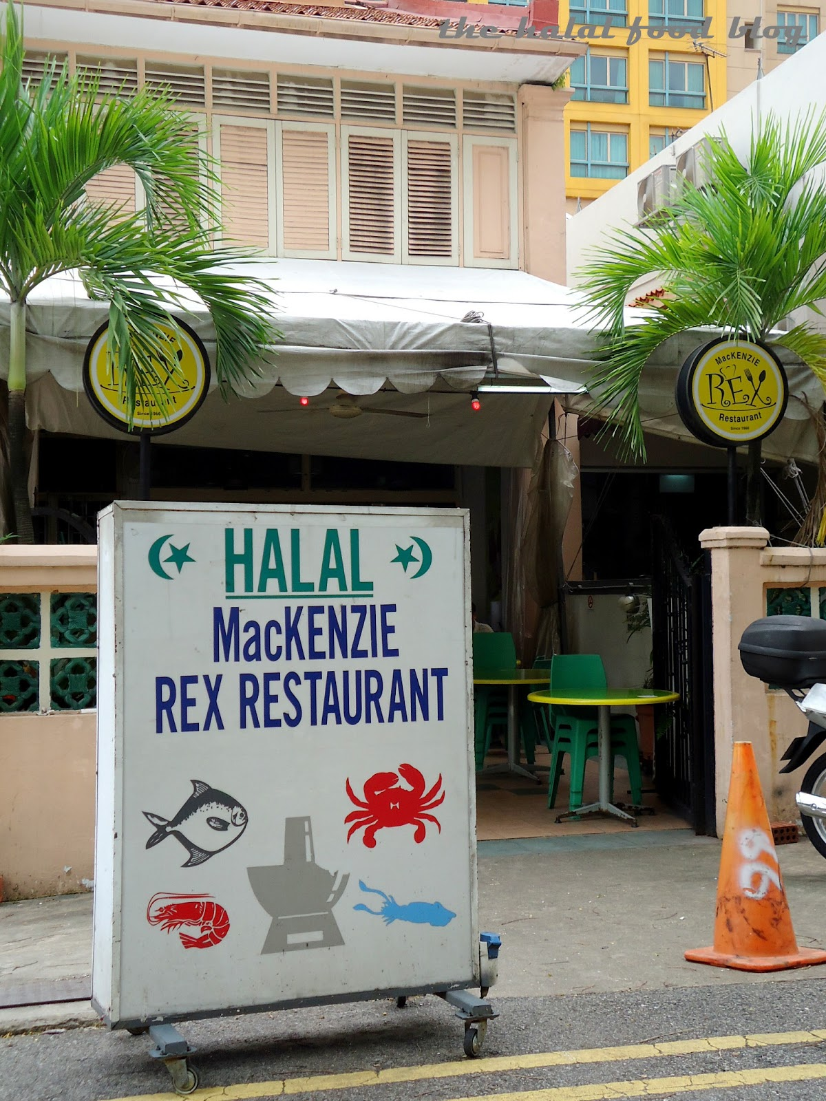The halal food blog the chicken rice chronicles part 5 for Restaurant rex