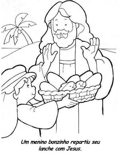 Loaves And Fishes Coloring Page Rachael Edwards Loaves And Fishes Coloring Page