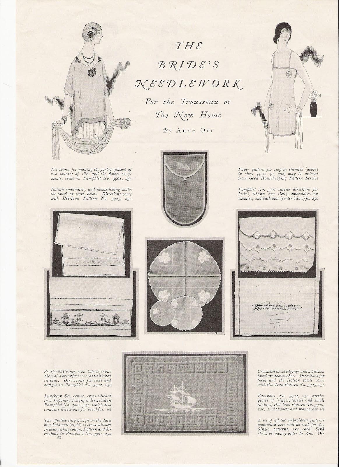 Apron History Good Housekeeping 1924 Fashion Part 2