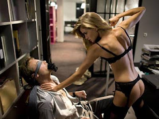Rosie Huntington Whiteley looks sexy in Agent Provocateur Lingerie Valentines Day