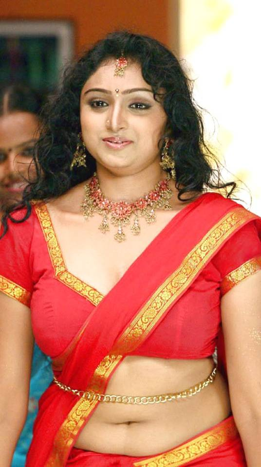 Tamil Actress Waheeda Hot Navel Show Photos