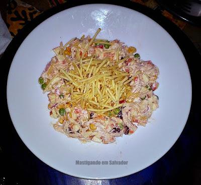 Creperê Crepes e Saladas: Salada de Salpicão de Frango