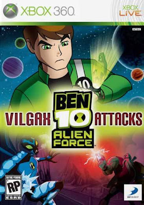 Ben Alien Force Viga Attacks Forca Alienigena Ataques De