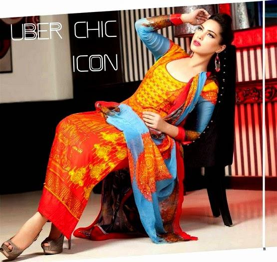 La Reina Digital Shalwar Kameez