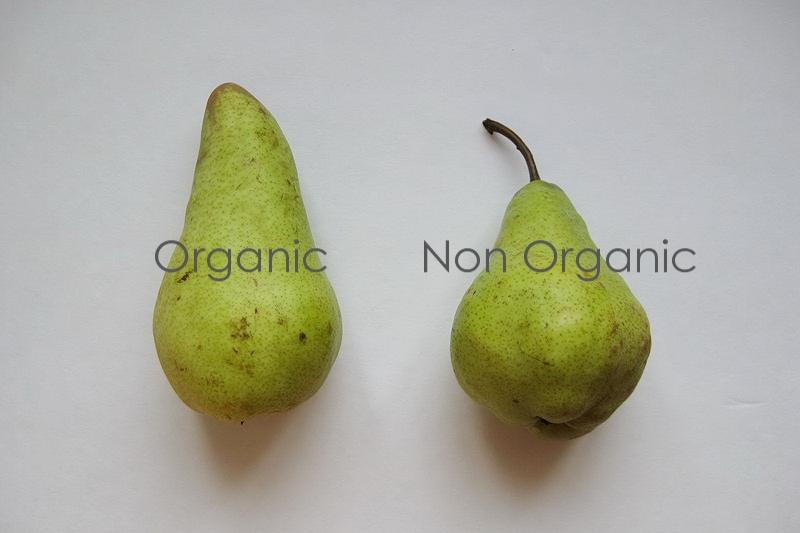 Organic food over non organic